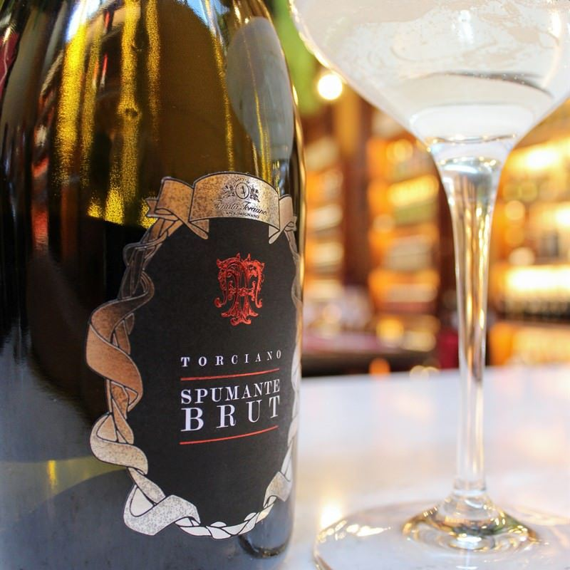 Spumante Brut, DOC Sparkling Wine from Italy