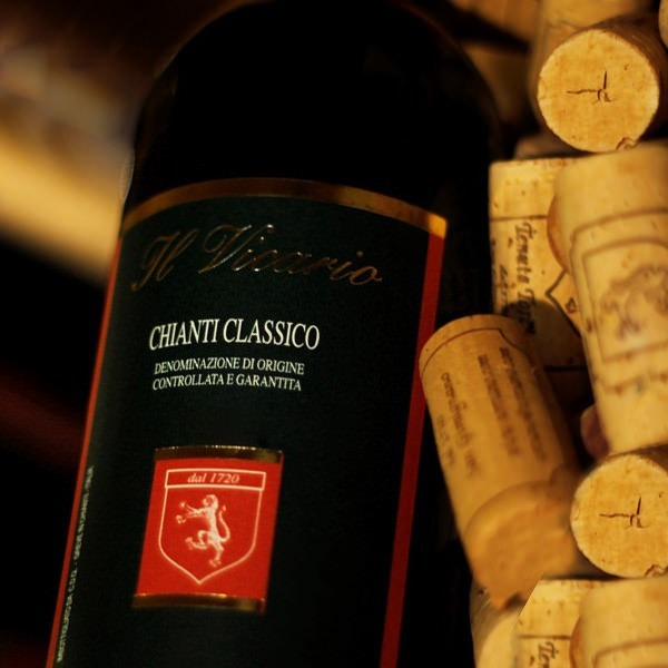 "2017 Chianti Classico ""Vicario"" Refined, elegant nose of redcurrant, strawberry amd herbes"