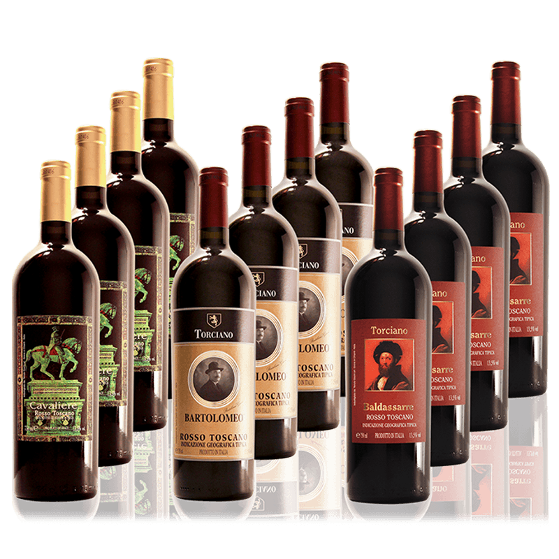 Super Tuscan Red Still Wine Mixed Case