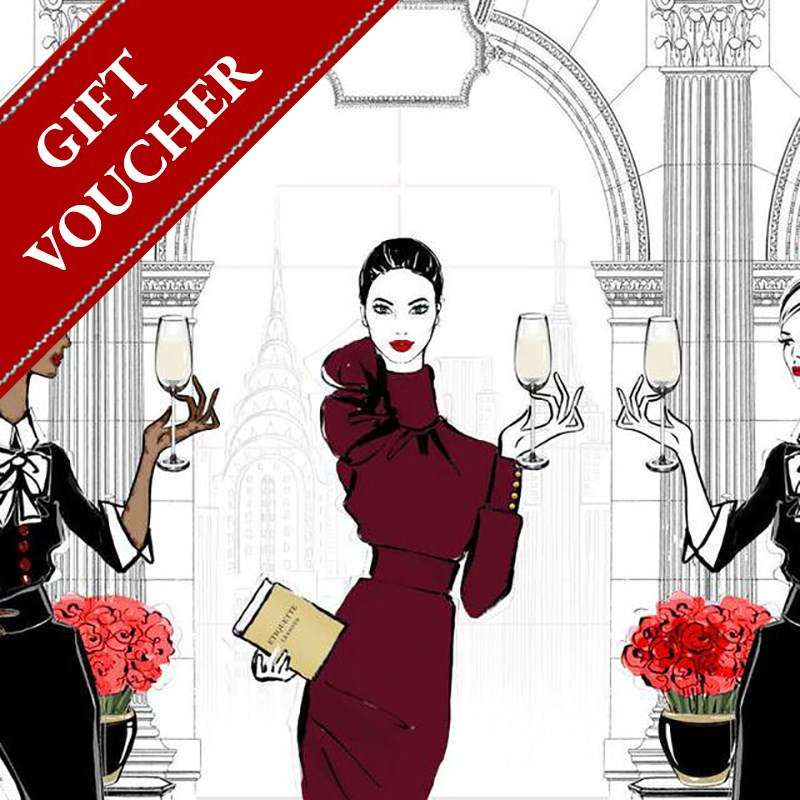 Wine etiquette and galateo Gift Voucher