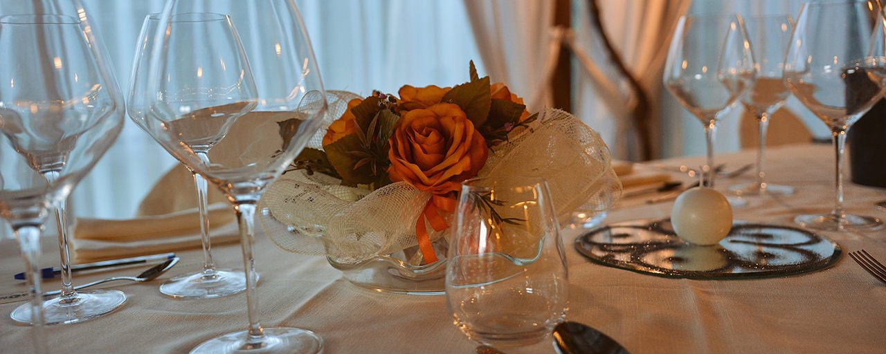 Torciano Restaurant Set Table