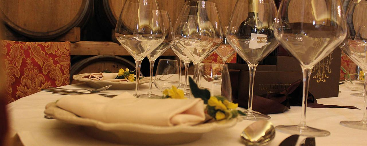 Torciano Restaurant in the Cellar