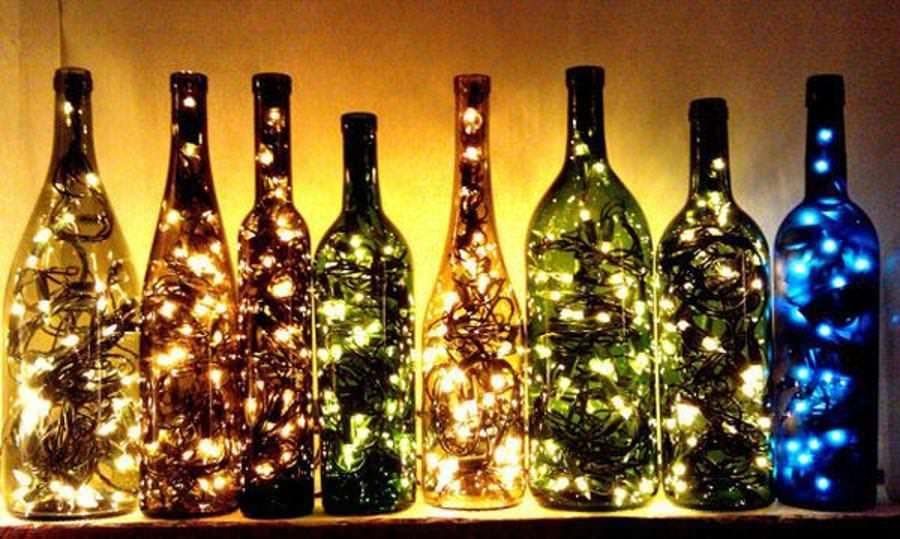 creativity bottles wine