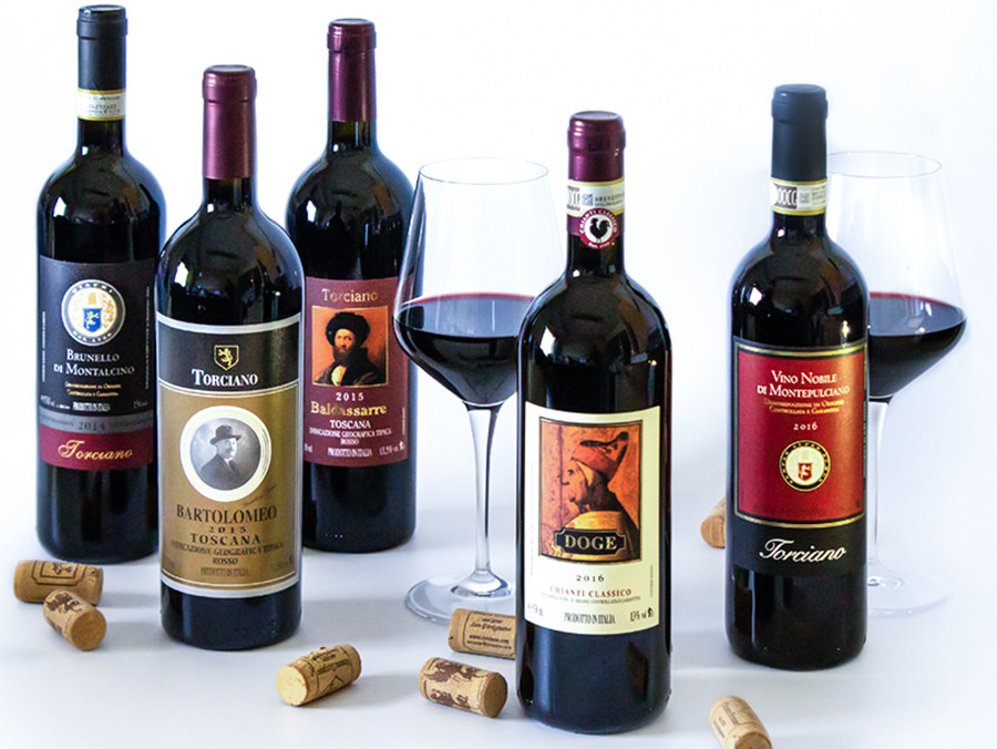 Favorite Reds from Italy