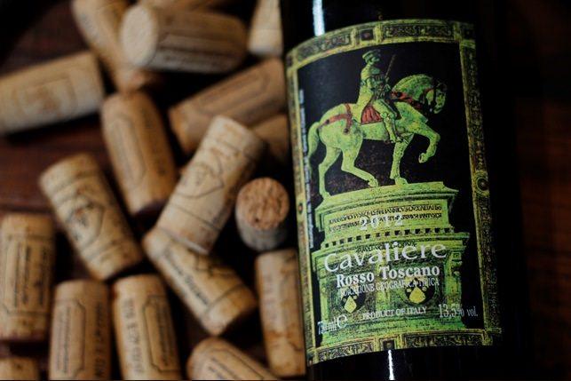 luxury wine cavaliere