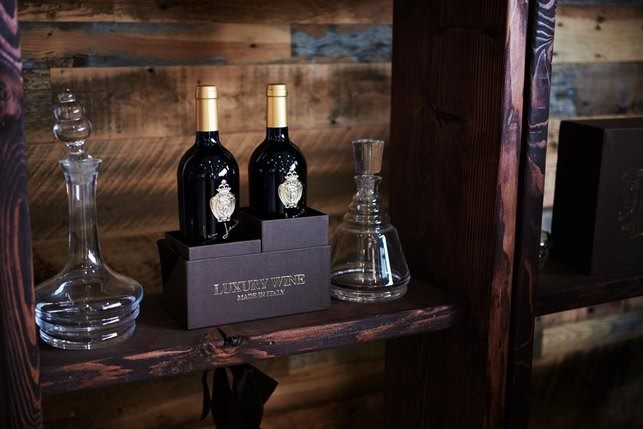 luxury wine terrestre