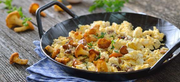 scrambled eggs truffle
