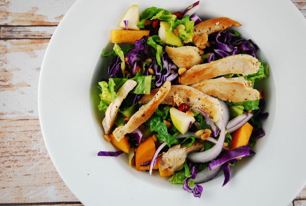 winter chicken salad