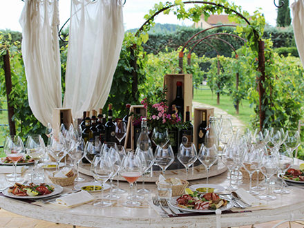 Vineyard Lunch